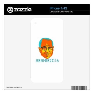Bernie 2016 President WPA Decals For iPhone 4