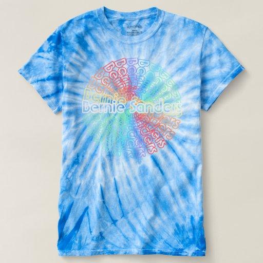 Bernie 2016 retro tie dye t shirt v 1 zazzle for How to make tie dye shirts at home