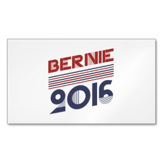 Bernie 2016 Vintage Campaign Style Magnetic Business Cards (Pack Of 25)