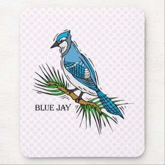 Bernie Blue Jay Mouse Pad