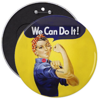 Bernie Buttons We Can
