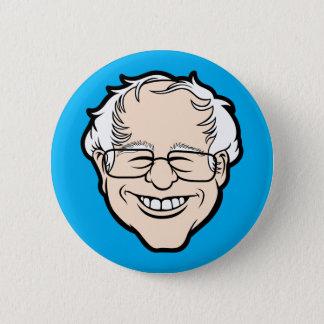 Bernie Cartoon Head Button