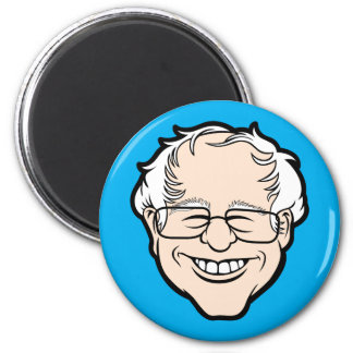 Bernie Cartoon Head Magnet