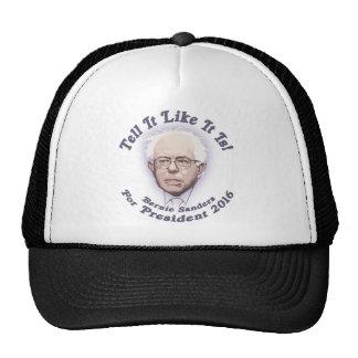 Bernie - dígalo que tenga gusto de él es gorro de camionero