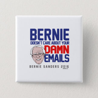 Bernie doesn't care about your emails button