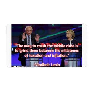 Bernie Explains it All Label