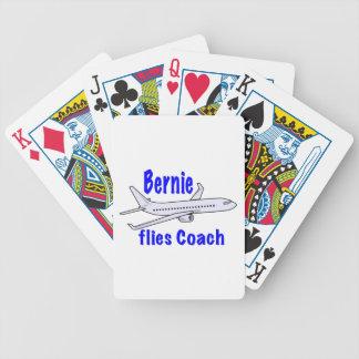 Bernie flies Coach Bicycle Playing Cards