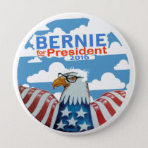 Bernie for President 2016 Button