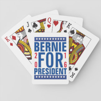 Bernie for President 2016 Playing Cards