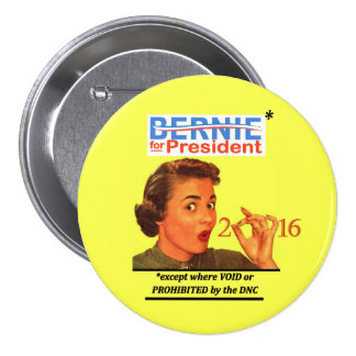 Bernie for President* Button