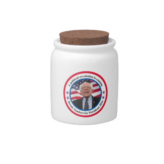 Bernie for President Candy Dishes