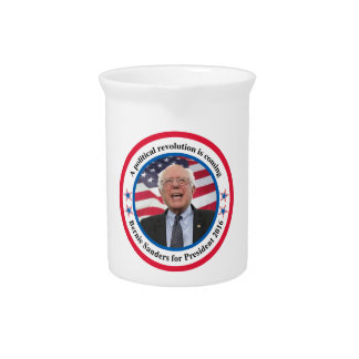 Bernie for President Drink Pitcher