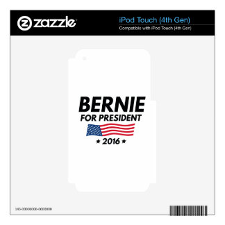 Bernie For President iPod Touch 4G Skins