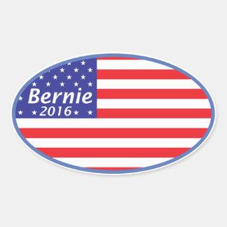 Bernie For President Oval Sticker