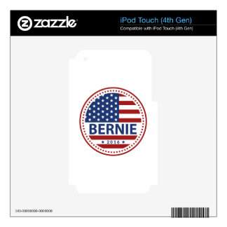 Bernie For President Skin For iPod Touch 4G