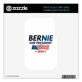 Bernie For President Skins For iPod Touch 4G