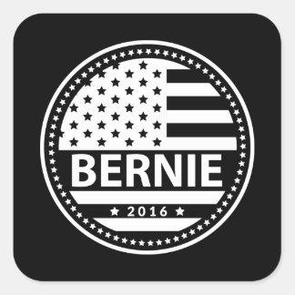 Bernie For President Square Sticker