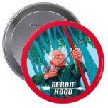 Bernie Hood 2016 4 Inch Round Button