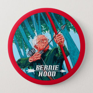 Bernie Hood 2016 Pinback Button