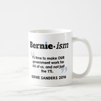 Bernie.ism Government for All Coffee Mug