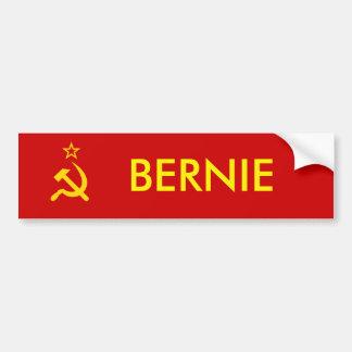 Bernie la pegatina para el parachoques del Commie Pegatina Para Auto