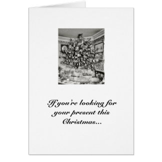 Bernie Madoff killed Santa Card
