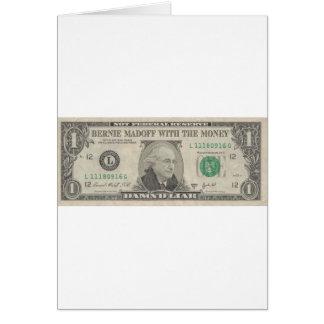 Bernie Madoff With The Money - Damn'd Liar Card