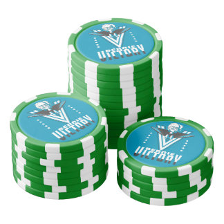 Bernie means Victory for USA Set Of Poker Chips