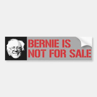 Bernie no está para la venta - chorreadoras de pegatina para auto