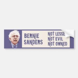 Bernie - Not Lesser Bumper Sticker