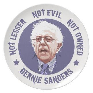 Bernie - Not Lesser Plate