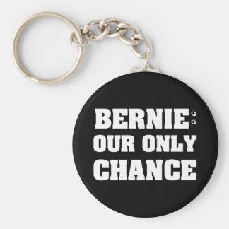 Bernie nuestra solamente ocasión llavero redondo tipo pin