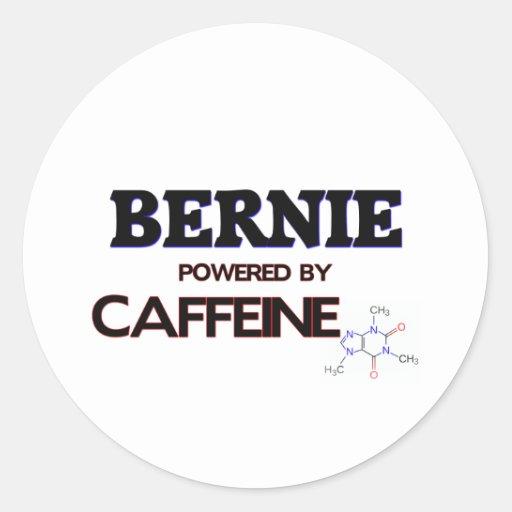 Bernie Powered by Caffeine Sticker