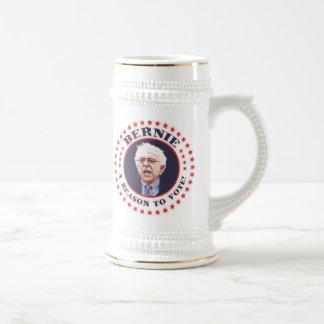 Bernie Reason To Vote Beer Stein