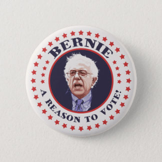 Bernie Reason To Vote Pinback Button