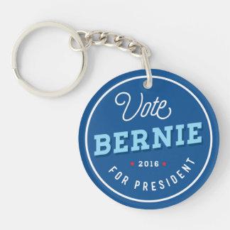 Bernie retro llavero redondo acrílico a doble cara