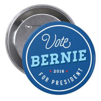 Bernie retro pin redondo de 3 pulgadas