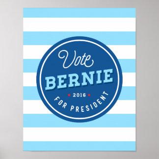 Bernie retro póster