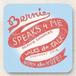 Bernie Ribbon II Beverage Coaster