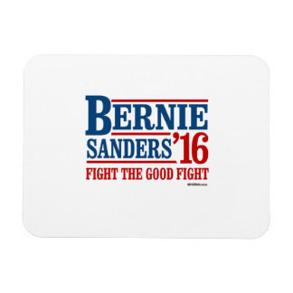 Bernie Sanders 16 - Fight the Good Fight Rectangular Photo Magnet