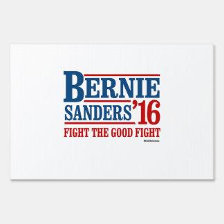 Bernie Sanders 16 - Fight the Good Fight Yard Signs