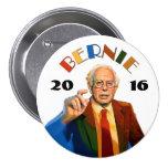 Bernie Sanders 2016 3 Inch Round Button