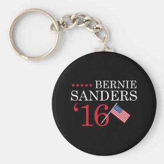 Bernie Sanders 2016 Basic Round Button Keychain