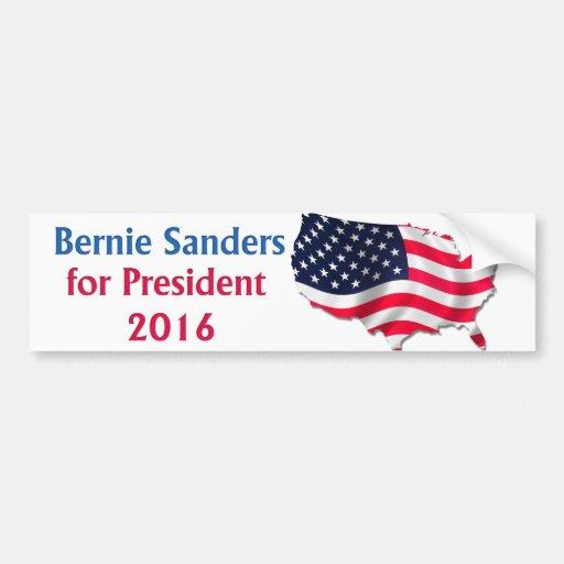 Bernie Sanders 2016 Bumper Sticker Bumper Sticker