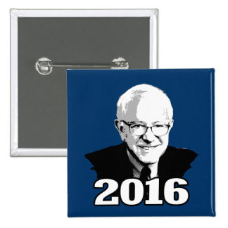 BERNIE SANDERS 2016 Candidate Button
