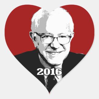 BERNIE SANDERS 2016 Candidate Heart Sticker