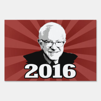 BERNIE SANDERS 2016 Candidate Lawn Sign