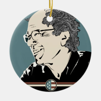 Bernie Sanders 2016 Ceramic Ornament