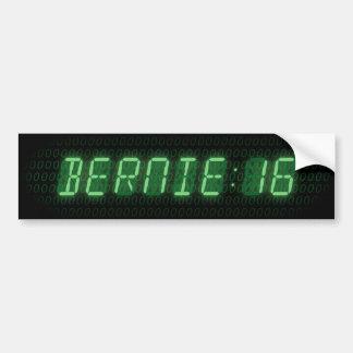 Bernie Sanders 2016 Clock Bumper Sticker