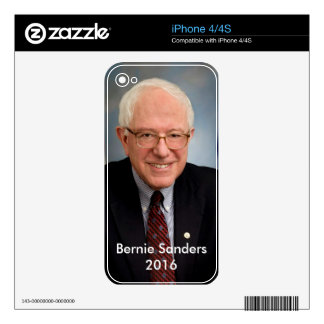 Bernie Sanders 2016 Decals For iPhone 4